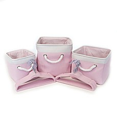 image of Closet Complete® 23-Piece Baby Shower Gift Set in Pink
