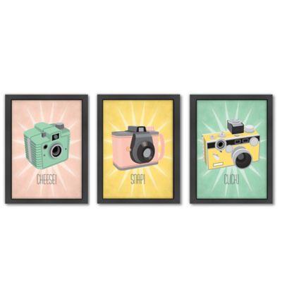 Americanflat Jilly Jack Designs Camera Wall Art  sc 1 st  Bed Bath u0026 Beyond & Kids Wall Art - Bed Bath u0026 Beyond