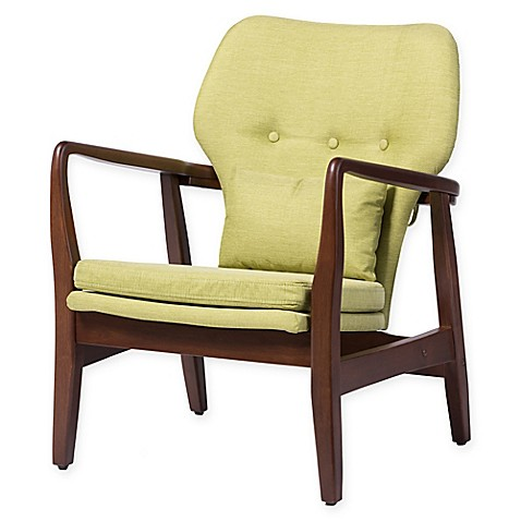 buy baxton studio rundell accent chair in green from bed