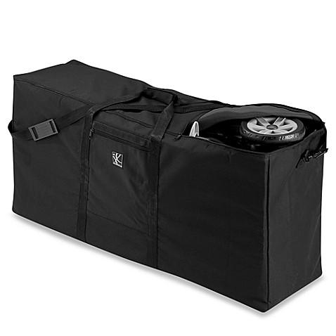 j l childress black stroller carrier and travel bag for standard dual strollers buybuy baby. Black Bedroom Furniture Sets. Home Design Ideas