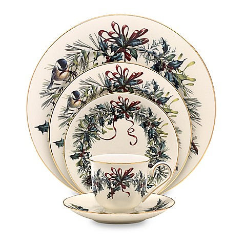 Lenox winter greetings dinnerware collection bed bath beyond lenoxreg winter greetingsreg dinnerware collection m4hsunfo
