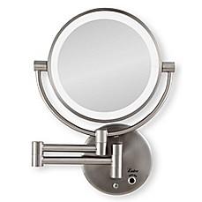 Zadro 10x 1x Cordless Led Lighted Wall Mirror