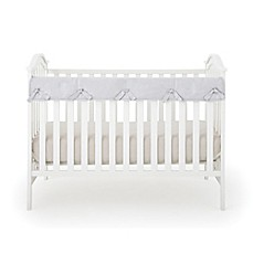 image of Babee Talk® Eco-Teether® Crib Rail Cover in Grey