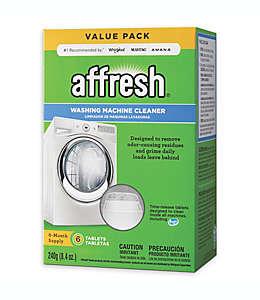 Pastillas limpiadoras para lavadora,  Affresh®, paquete de 6 pzas.