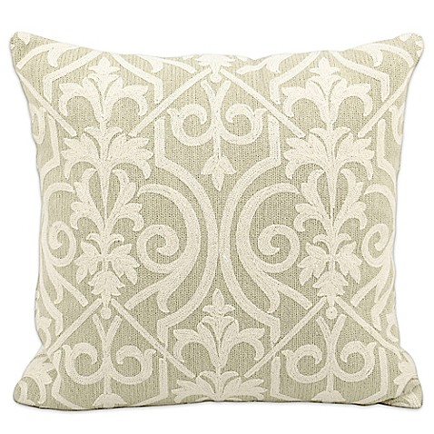 Mina Victory Lifestyles Square Lace Throw Pillow - Bed Bath & Beyond