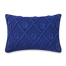image of Anthology™ Marrakesh Vibe Rectangle Throw Pillow in Blue