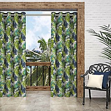 image of Parasol Key Biscayne Grommet Indoor/Outdoor Window Curtain Panel
