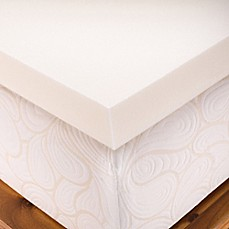 image of Authentic Comfort® 1.5-Inch Memory Foam Mattress Topper