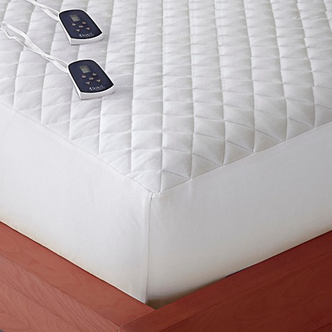 Buy Micro Flannel 174 Twin Electric Mattress Pad In White