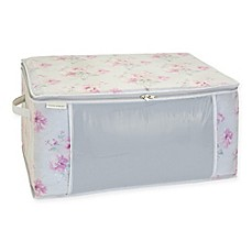 image of Laura Ashley Beatrice Non-Woven Blanket Storage Bag