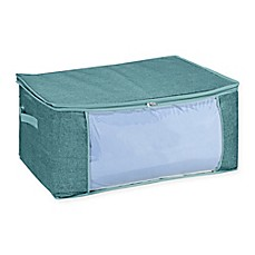 image of Simplify Blanket Storage Bag in Blue