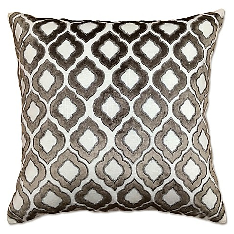 Throw Pillows Malum : Moroccan Velvet Applique Throw Pillow - Bed Bath & Beyond