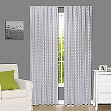 Captivating The Peanut Shell® Arrows 84 Inch Blackout Window Curtain Panels In Grey (Set