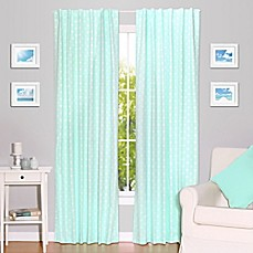 The Peanut Shell® Arrows 84 Inch Blackout Window Curtain Panels In Mint (Set