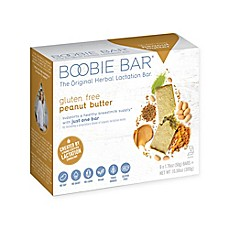 image of Boobie Bar® Herbal Lactation 6-Pack Oatmeal Peanut Butter Bars