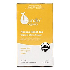 image of Bundle Organics™ Nausea Relief Organic Citrus Ginger Tea