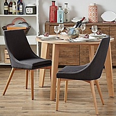 image of Verona Home Hudson Mid-Century Side Dining Chairs (Set of 2)