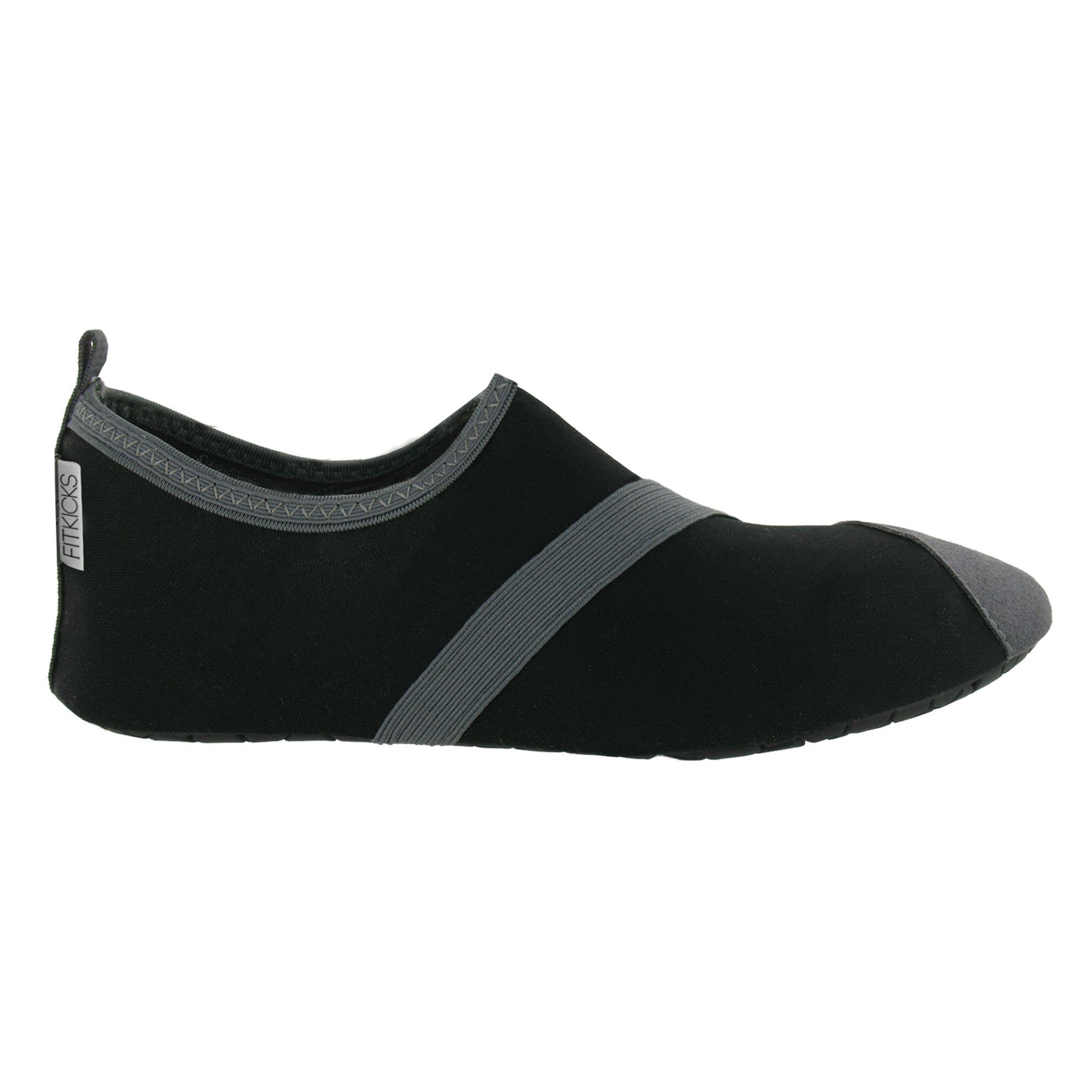 FITKICKS® Size Large Active Lifestyle Footwear in Black