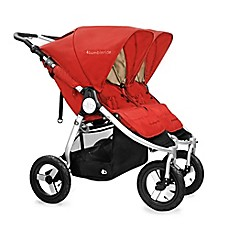 image of Bumbleride™ Indi Twin Double Stroller in Sand Red