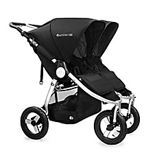 image of Bumbleride™ Indi Twin Double Stroller in Silver Black