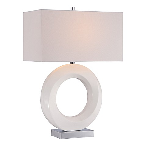 George kovacs portables 10 inch table lamp with white for 10 inch table lamps