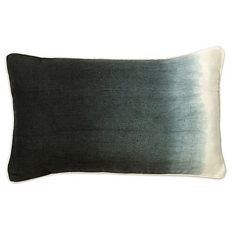 Throw Pillows Charcoal : Buy Christy Sumatra Oblong Throw Pillow in Charcoal from Bed Bath & Beyond