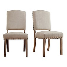 image of Verona Home Radcliffe Shield Back Dining Chairs (Set of 2)
