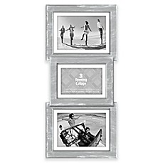 image of malden 3 opening collage picture frame in grey