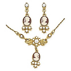 image of Downton Abbey® Cameo Jewelry Collection