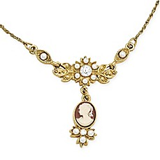 image of Downton Abbey® Cameo Necklace