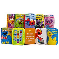 image of Me Reader Jr.™ Sesame Street Electronic Reader and 8-Book Library