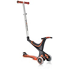 image of Globber Scooters 3-Wheel 5-in-1 Scooter in Red