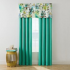 image of Cape Town Window Curtain Panel Pair and Valance