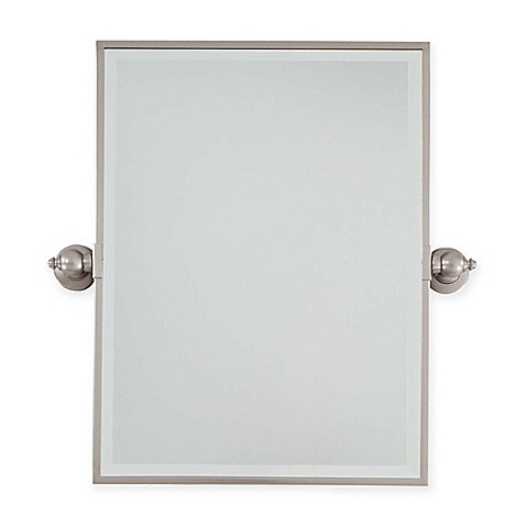 Buy minka lavery 18 inch x 24 inch rectangle pivoting for Mirror 18 x 24