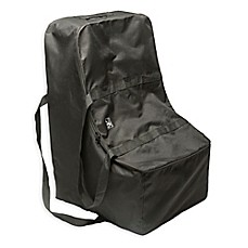 J L Childress Universal Side Carry Car Seat Travel Bag In Black