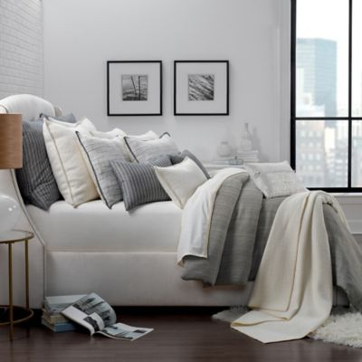 image of Portico Park Ave Organic Cotton Duvet Cover