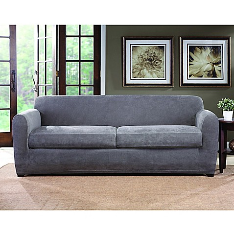 Buy sure fit ultimate stretch chenille 2 cushion sofa for Ultimate sofa bed