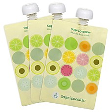 image of Sage Spoonfuls® Squeezie 3-Count Fruit Dots Food Pouch