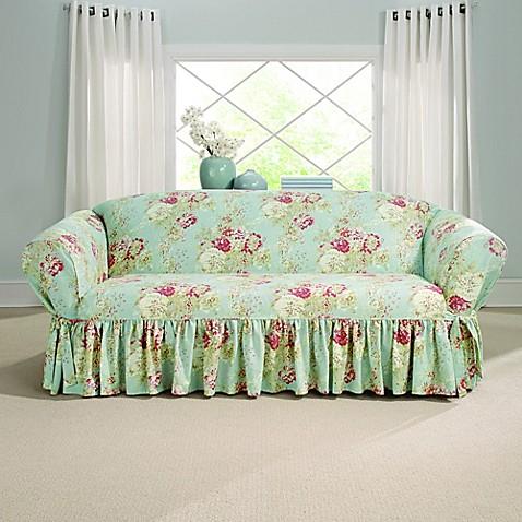 sure fit ballad bouquet by waverly sofa slipcover bed bath beyond rh bedbathandbeyond com Waverly Loveseat Cover Waverly Loveseat Cover