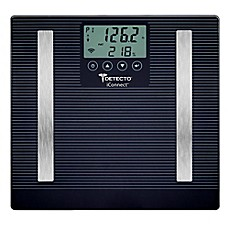 image of Detecto iConnect Smart LCD 8-in-1 Digital Scale