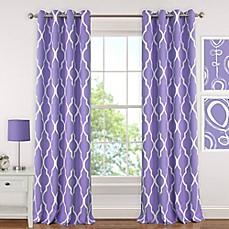 Elrene Emery Room Darkening Grommet Top Window Curtain Panel
