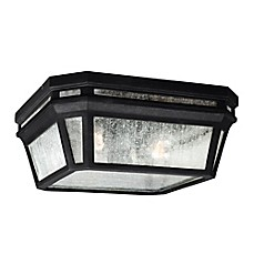 image of Feiss® Londontowne 2-Light Outdoor Flush Mount Fixture