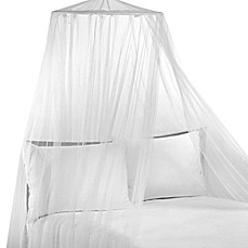 image of Siam White Bed Canopy
