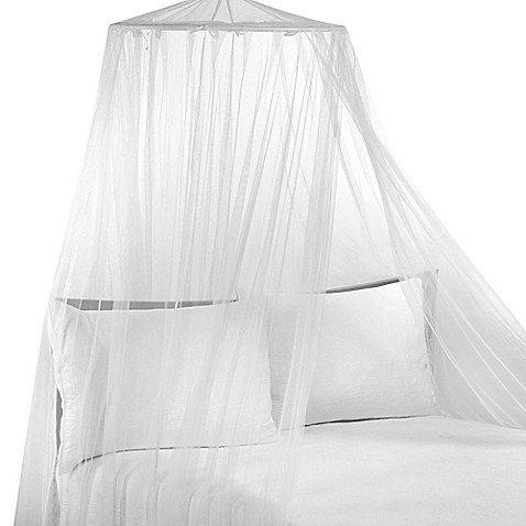 Siam White Bed Canopy  sc 1 st  Bed Bath u0026 Beyond & Siam White Bed Canopy - Bed Bath u0026 Beyond