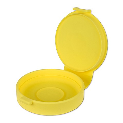 Casabella Reg Silicone Microwave Egg Cooker In Yellow