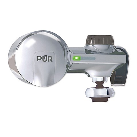 Pur Horizontal Faucet Mount Filtration System With Swivel