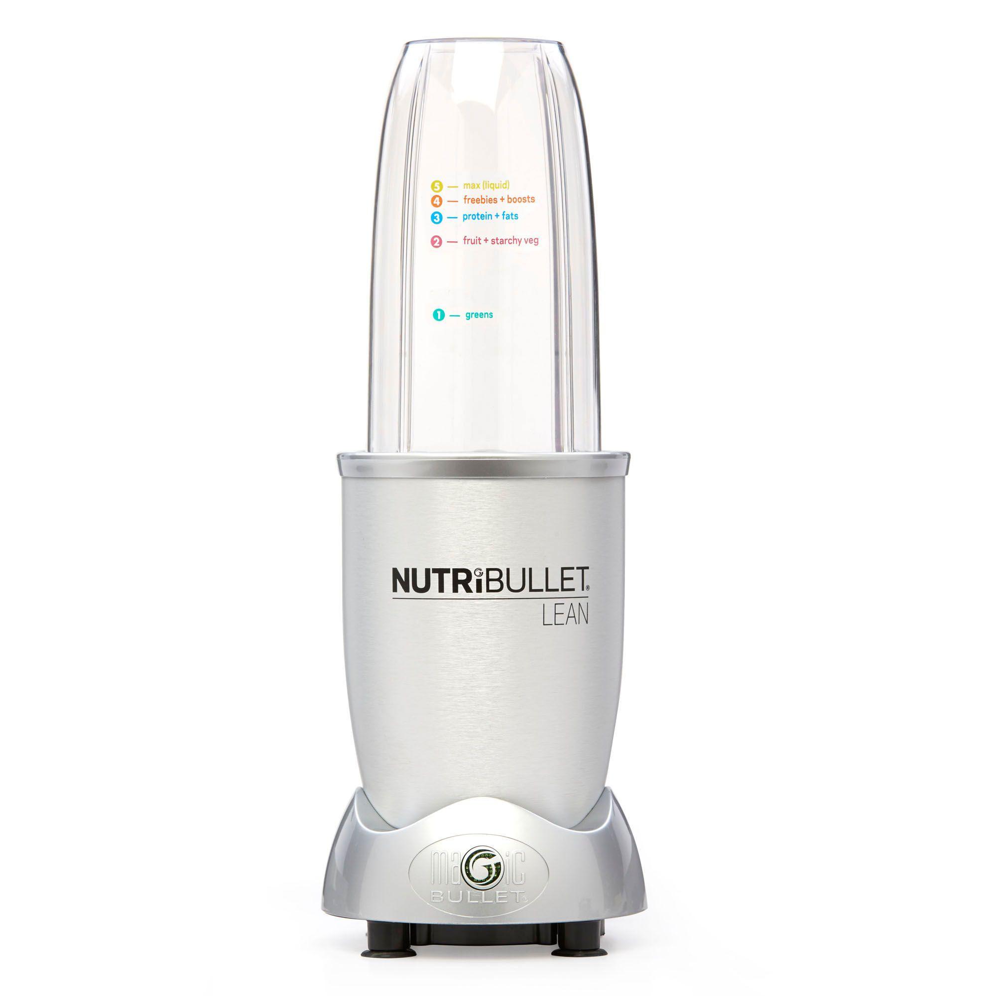 nutribullet lean 32 oz multi function blender in silver bed nutribullet lean trade 32 oz multi function blender in silver