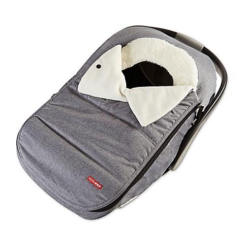 Skip*Hop® Stroll & Go Car Seat Cover in Heather Grey - Bed Bath & Beyond