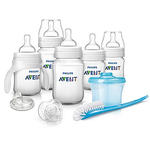 philips avent anti colic newborn starter set in blue buybuy baby. Black Bedroom Furniture Sets. Home Design Ideas