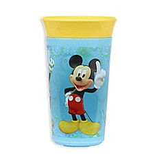 image of The First Years Simply Spoutless 9 oz. Mickey Mouse Cup in Blue/Yellow